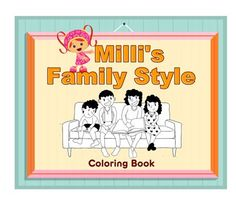 Milli helps teach kids about family traditions just in time for Thanksgiving in this coloring book.