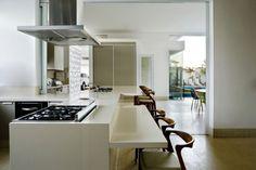 Casa Pátio - arquiteto Léo Romano - espaço gourmet integrado com cozinha