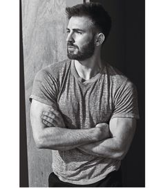 New Photo: Chris Evans for W MAGAZINE! 📸 #ChrisEvans #WMagazine #BlackAndWhite…