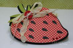 strawberry card Strawberry Shortcake Party, Petal Pushers, Arts And Crafts, Paper Crafts, Cricut Cartridges, Cross Stitch Cards, Cricut Cards, Basic Grey, Cricut Creations