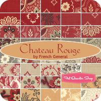Chateau Rouge Yardage French General for Moda Fabrics