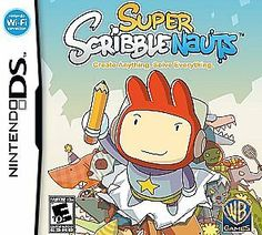 Warner Home Video - Jeux 1000155329 Super Scribblenauts Nintendo Ds Nintendo Ds, Nintendo Games, Playstation, Xbox, Wi Fi, Cute Office, Ds Games, First Game, Consoles
