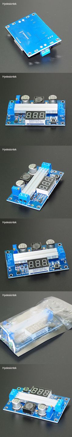 LTC1871 DC DC Step Up Booster Converter 3-35VDC to 3.5-35VDC + LED Voltmeter DC-DC Step Up Module Power Supply Voltage Regulator