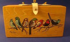 for the birds... Enid Collins ec box bag!!