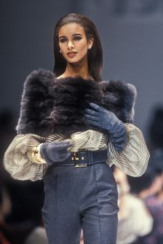 Risultati immagini per Christian Dior Haute Couture- A/W 1987-88