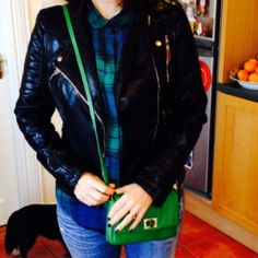 💚💙💚💙💚 by Linda Red Leather, Leather Jacket, Personal Taste, Jackets, Bags, Style, Fashion, Studded Leather Jacket, Down Jackets
