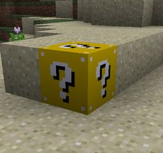 Lucky Block Mod is one of a kind mod that gives you ability to create a block which can spawn random items, etc. Works in multiplayer. Rainbow Live, Minecraft Pictures, Minecraft Mods, Game Logo, Spawn, Nintendo 64, Card Making, Ideas, Random Items