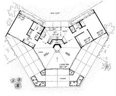 Details About Octagon House Plans Home Vintage Blueprint