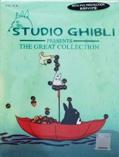 Studio Ghibli Presents the Great Collection  (DVD) // Grave of the Fireflies // Howl's Moving Castle // Kiki's Delivery Service // Laputa (Castle of the Sky) // My Neighbor Totoro // Nausicaa The Valley of the Wind // Only Yesterday // Pom Poko // Porco-Rosso // Princess Mononoke // Sound Of the Ocean // Tales From Earthsea // The Castle of Cagliostro // The Cat Returns // Whisper of the Heart // Spirited Away // On Your Mark // Ponyo On the Cliff By The Sea