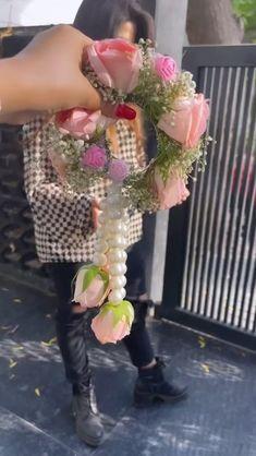 Bride Entry, Diy Lace Ribbon Flowers, Wedding Lehenga Designs, Prom Dresses Long Pink, Bridal Lehenga Collection, Pakistani Bridal Wear, Flower Jewelry, Bridal Photography, Bridal Jewellery