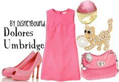 HP: Umbridge inspired outfit by Disneybound at:  http://disneybound.tumblr.com/
