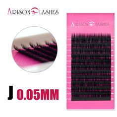Charming Lashes 0.05 J Curl individual eyelashes wispies eyelashes korean eyelashes thick lashes makeup eyelash extension #Affiliate