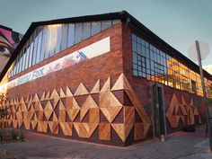 Reclaimed wood artwork beautifies downtown Johannesburg | Inhabitat - Sustainable Design Innovation, Eco Architecture, Green Building