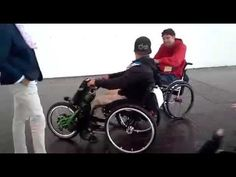 AARON FOTHERINGHAM TESTING THE BATEC ELECTRIC RAPID EDITION AT REHACARE ...