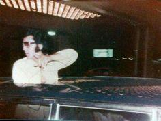 Elvis in Las Vegas, August 1974.