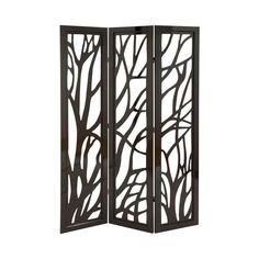 Foroest Covering Screen ||| Instead of heading to the woods for a little privacy, just jump behind this forest-inspired screen.