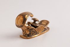 CHRIS LAARMAN Tail-Handled Brass Instrument Maker's Plane MINT in its Original Box