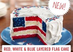 Independence day is here before we know it. Decorate with cute food!