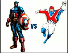 Captain America or Captain Britain? #Marvel #comics #avengers