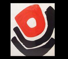 Charles Gassner 'Red Circle' circa 1960s.