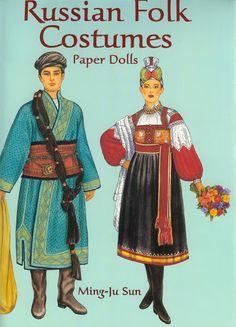 Russian Folk Costumes Paper Dolls (Ming-Ju Sun) - Nena bonecas de papel - Picasa Webalbum* 1500 free paper dolls international artist Arielle Gabriel's The Internatonal Paper Doll Society for paper doll pals at Pinterest *