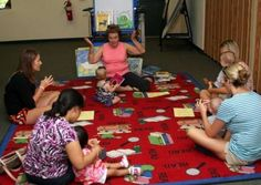 Lily Pad Lapsit: Storytime for Babies Dallas, Texas  #Kids #Events