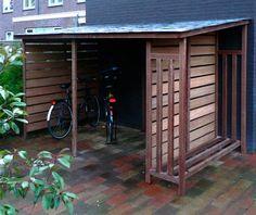 fietsoverkapping tuin