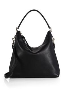 Gucci - Miss GG Leather Hobo Bag