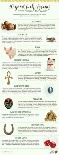 10 good luck charms