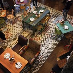 Suppliers of commercial tiles to the trade Restaurant Interior Design, Wall And Floor Tiles, Restaurant Bar, Cement, Commercial, Flooring, Website, Projects, Home Decor