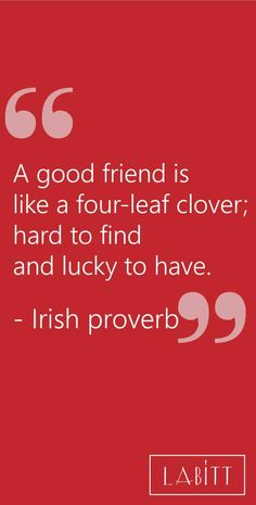 Friendship Quote -- Irish Proverb| Best Friend Day Quotes and Sayings