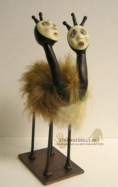 Who says two heads are better than one? - Beth Robinson artist
