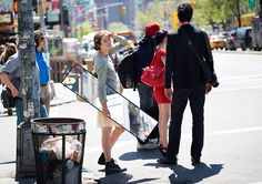 On the Street…..Things Girls Carry On the Street, Bowery, New York (part 2) « The Sartorialist