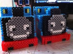 Thomas train perler beads by Hailey C. - Perler® | Gallery