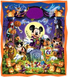 Disney Halloween - In honor of Halloween Time at Disneyland Park Disney Halloween, Halloween Cartoons, Holidays Halloween, Scary Halloween, Vintage Halloween, Halloween Crafts, Happy Halloween, Disney Holidays, Images Disney