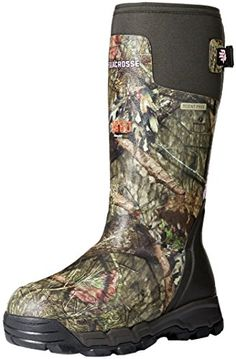 LaCrosse Womens Alphaburly Pro 1600G Hunting Shoes Mossy Oak Break up Country 9 M US -- Want to know more, click on the image.