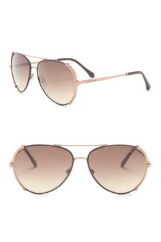 78315c04457fa Roberto Cavalli - 58mm Metal Aviator Sunglasses is now 76% off. Free  Shipping on