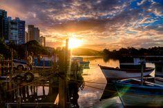 Pôr do sol na marina by Felipe Lube de Bragança / fe-lubra, via Flickr