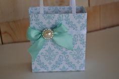 Elegant party favor bag by steppnout on Etsy, $2.50
