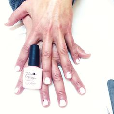 CND Shellac nails for