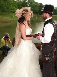 Lisa Sanders making it uniquely hers, dress  from Circle Park Bridal Boutique.