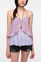 Sparkle & Fade Double Layer Cami  #UrbanOutfitters