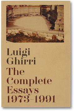 MACK - Luigi Ghirri - The Complete Essays 1973–1991