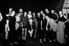 Colectivo de Designers Corner en backstage IM - - ph: Guillermina Fernandez