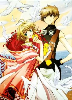 Glitter Graphics: the community for graphics enthusiasts! Syaoran and Sakura, Tsubasa Chronicle, by CLAMP