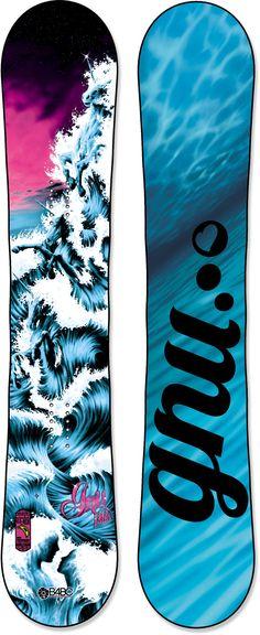 Gnu Female B-Pro Series C2 Btx Snowboard - Women's /