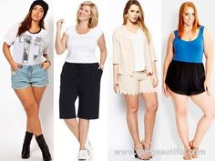 Shorts for Plus Size Pear Shape