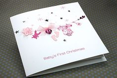 baby's first christmas card ideas - Google Search