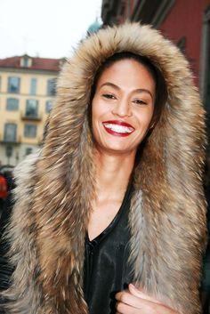 Fur hoody