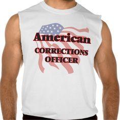 American Corrections Officer Sleeveless T Shirt, Hoodie Sweatshirt